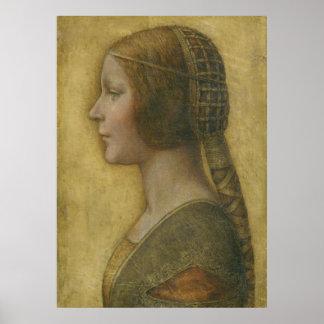 De Druk van het Canvas van La Bella Principessa Poster