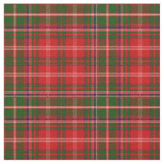 De Druk van het Geruite Schotse wollen stof van