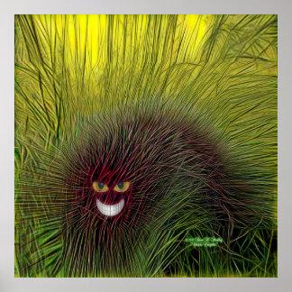 De Druk van het Poster van Cheshire Caterpillar