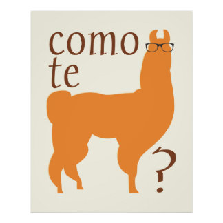 De Druk van het Poster van het Citaat van de lama: