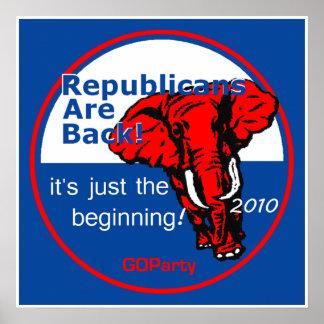 De Druk van het Poster van REPUBLIKEINEN