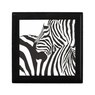 De Druk van het wild, Zebra Decoratiedoosje