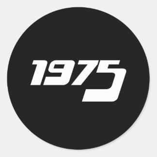 De Druk van Nice 1975 Ronde Sticker
