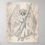 De Druk van Raphael van de aartsengel Poster