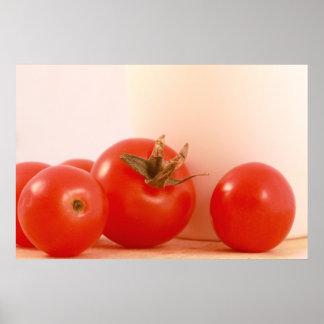 De Druk van tomaten Poster