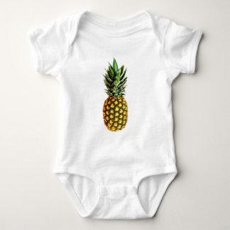 De drukbaby van de ananas kleding romper