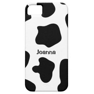 De drukiPhone 5 hoesje   van de koe