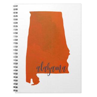 De druknotitieboekje van Alabama Ringband Notitieboek
