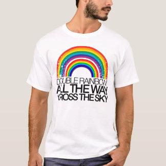 De dubbele T-shirt van de Regenboog