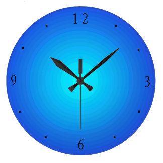 De duidelijke Klokken van het Blauw/van Aqua > van