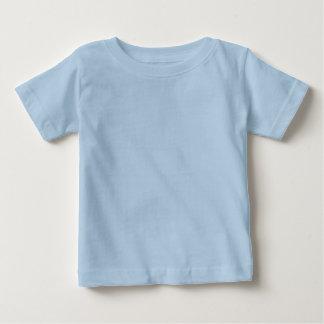 De duidelijke Lichtblauwe T-shirt van Jersey van