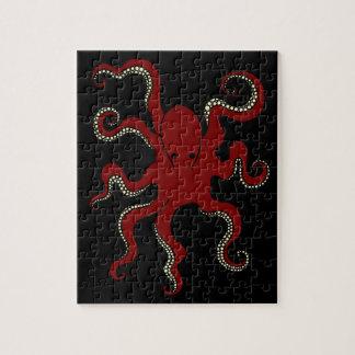 De duidelijke Puzzel van de Octopus Puzzels
