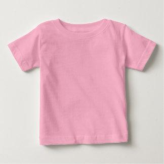 De duidelijke Roze T-shirt van Jersey van het Baby