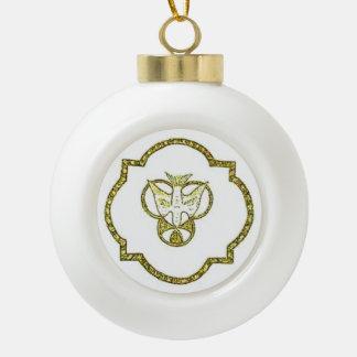 De Duif van de drievuldigheid Keramische Bal Ornament