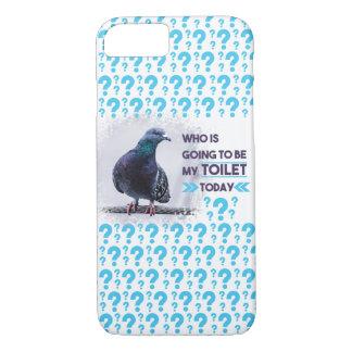 De Duif van het Toilet van Iphone iPhone 7 Hoesje