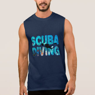 De Duiker van het vrij duiken met het Duiken T Shirt