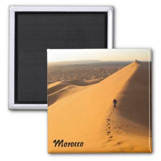 De Duinen van het zand in de magneet van Marokko