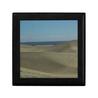De Duinen van het Zand van Gran Canaria Decoratiedoosje