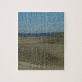 De Duinen van het Zand van Gran Canaria Puzzel