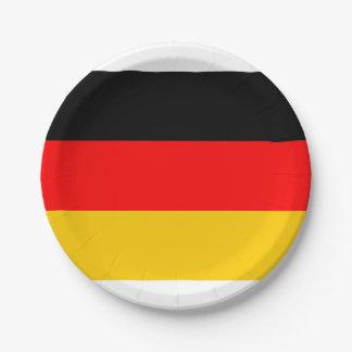 De Duitse Borden van het Document van de Vlag Papieren Bordje