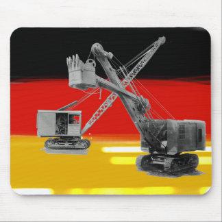 De Duitse Exploitant van de Schop van de Kraan van Muismat