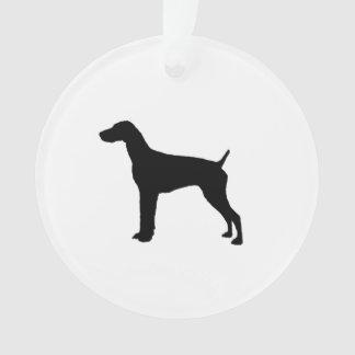 De Duitse Kortharige Honden van de Liefde van het Ornament