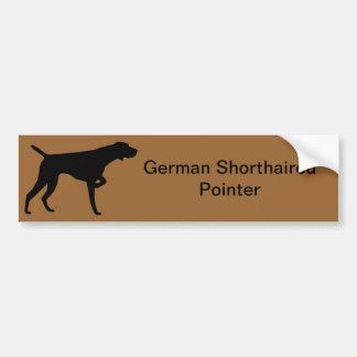 De Duitse Kortharige Sticker van de Bumper van de Bumpersticker