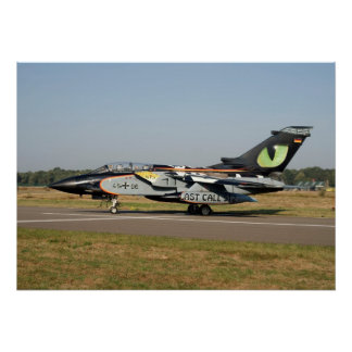 De Duitse Luchtmacht NTM 2009 van de tornado Poster