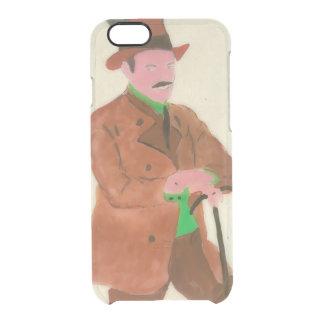 De Duitse Mijnheer van Oktoberfest Doorzichtig iPhone 6/6S Hoesje