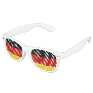 De Duitse Schaduwen van de Partij van de Vlag Retro Zonnebril