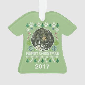 De Duitse Sweater van Kerstmis van de Kortharige Ornament