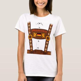 De Duitse T-shirt Lederhosen van Oktoberfest