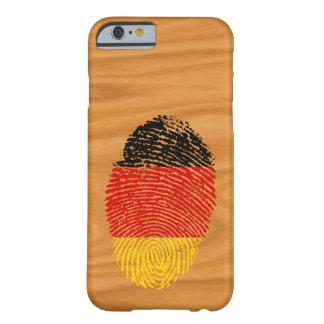 De Duitse vlag van de aanrakingsvingerafdruk Barely There iPhone 6 Hoesje