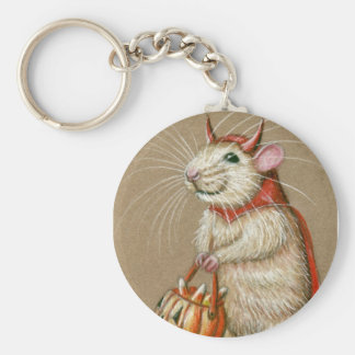 De Duivel Halloween van de rat keychain Sleutelhanger
