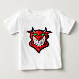 De Duivel van de cartoon Baby T Shirts