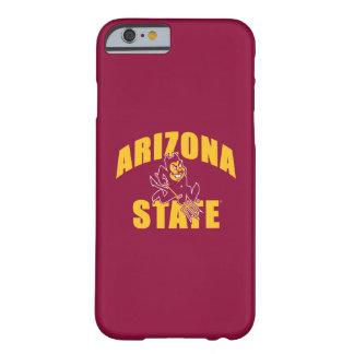 De Duivel van de Zon van de Staat van Arizona Barely There iPhone 6 Hoesje