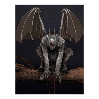 De Duivel van Jersey Poster