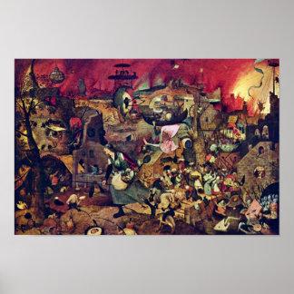 DE Dulle Griet (Verschrikkelijk Grete) door Poster