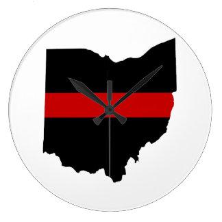 De dunne Rode Klok van Ohio van de Lijn