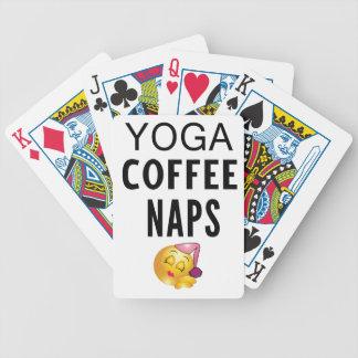 De Dutjes van de Koffie van de yoga Pak Kaarten