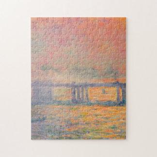 De DwarsBrug van Claude Monet Charing Puzzel