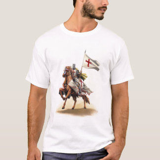 De DwarsT-shirt van Jeruzalem van de Kruisvaarder T Shirt
