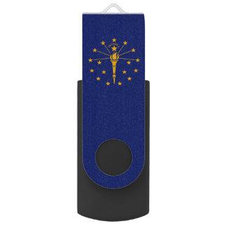 De dynamische Vlag van de Staat van Indiana USB Stick