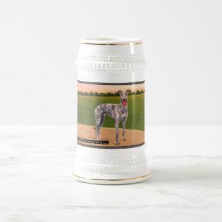 De ECHTE Beroemde Hond van de Windhond HUNTSMAN Bierpul