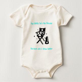 De echte Directeur Baby Baby Shirt