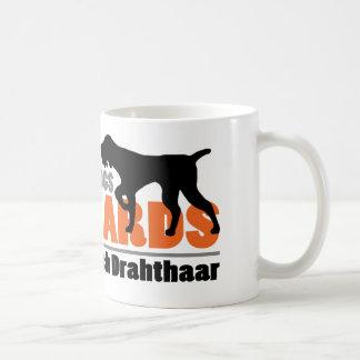 De echte Honden hebben Baarden - Deutsch Drahthaar Koffiemok