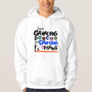 De echte Opa's gaan vissend Hoodie