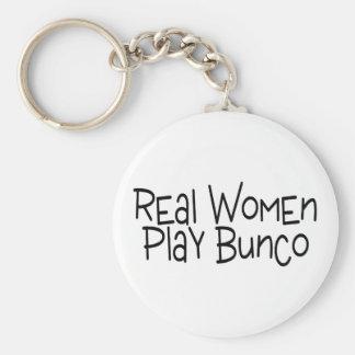 De echte Vrouwen spelen Bunco Sleutelhanger