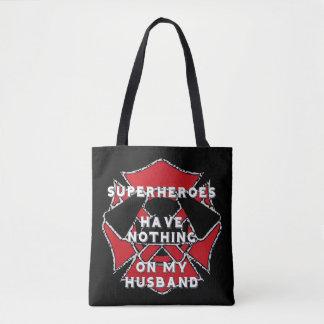 De echtgenootbolsa van de brandbestrijder draagtas