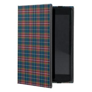 De eclectische Plaid van de Toon van het Juweel iPad Mini Hoesje